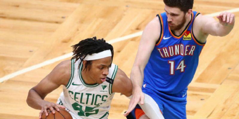 Михайлюк набрал 6 очков и помог «Оклахоме» обыграть «Бостон»