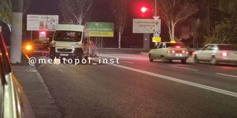 В Мелитополе столкнулись легковушки: есть пострадавшие