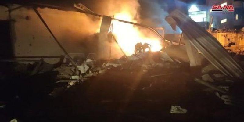 У Сирії внаслідок ракетного обстрілу з боку Ізраїлю загинув цивільний, є постраждалі: відео