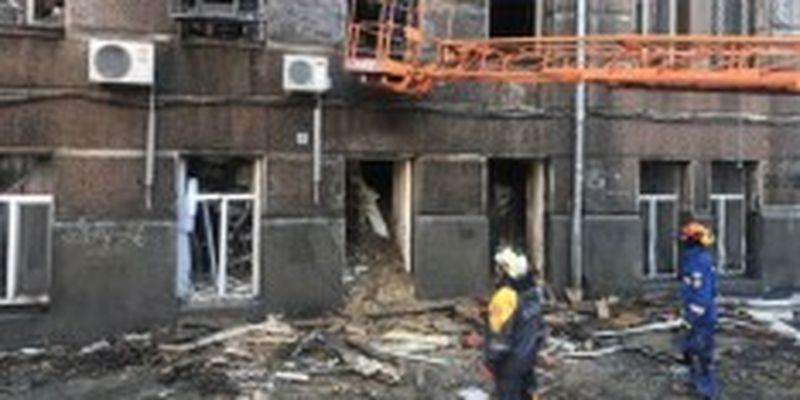 Спасатели завершили поисковую операцию на руинах Одесского колледжа