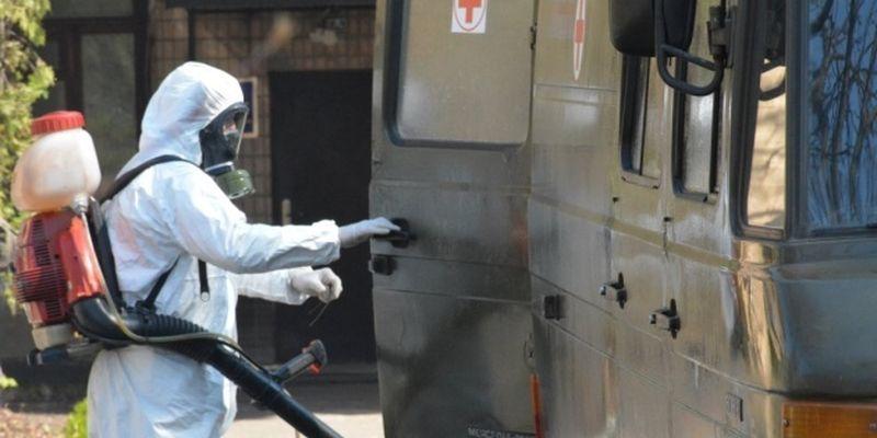 В украинской армии за сутки - только один случай коронавируса