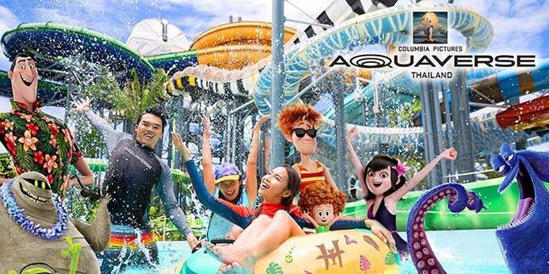 Sony Pictures Entertainment и Amazan Falls откроют первый тематический парк развлечений «Columbia Pictures 'Aquaverse»