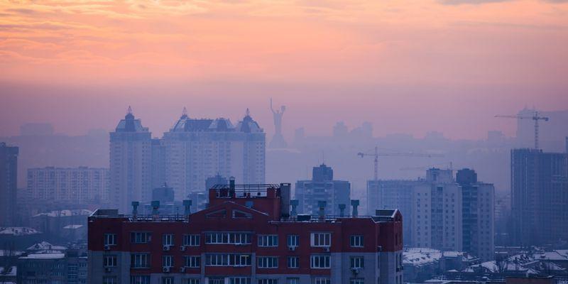 Через погану погоду у столиці зріс рівень забрудненості повітря