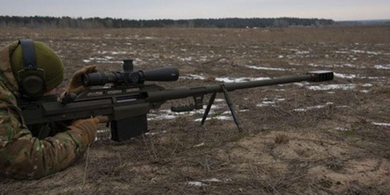 Украинские снайперы получили мощные винтовки - поражают цель на расстоянии 2 км: фото и видео