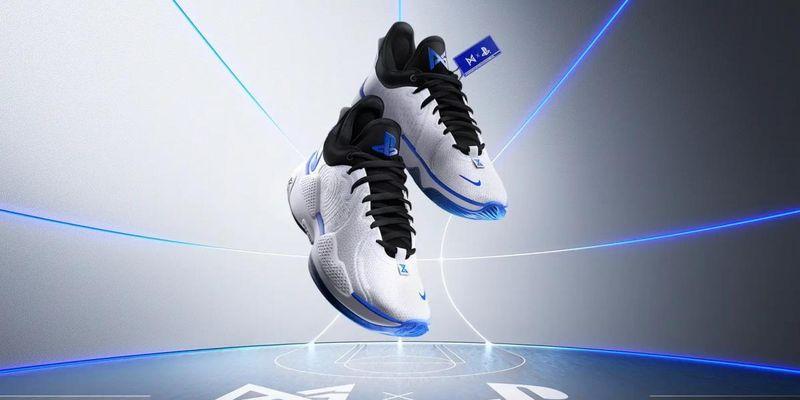 Баскетболіст Пол Джордж спільно з Nike представив кросівки в стилі PlayStation 5