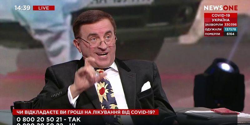 Политического эксперта, выступающего на каналах Медведчука, обвиняют в госизмене