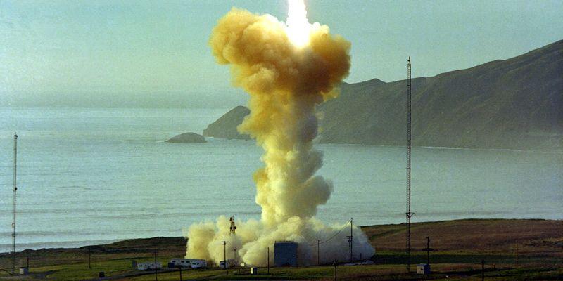 Американські військові зазнали невдачі під час випробування міжконтинентальної балістичної ракети