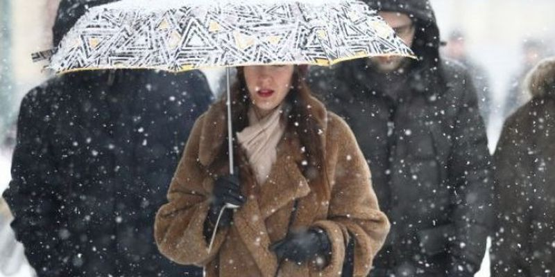 Погода на сегодня: местами в Украине пройдут дождь и снег