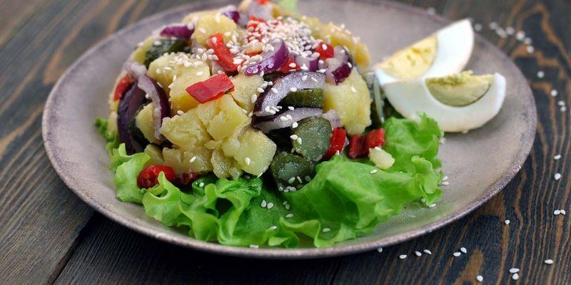 Рецепт оригинального картофельного салата