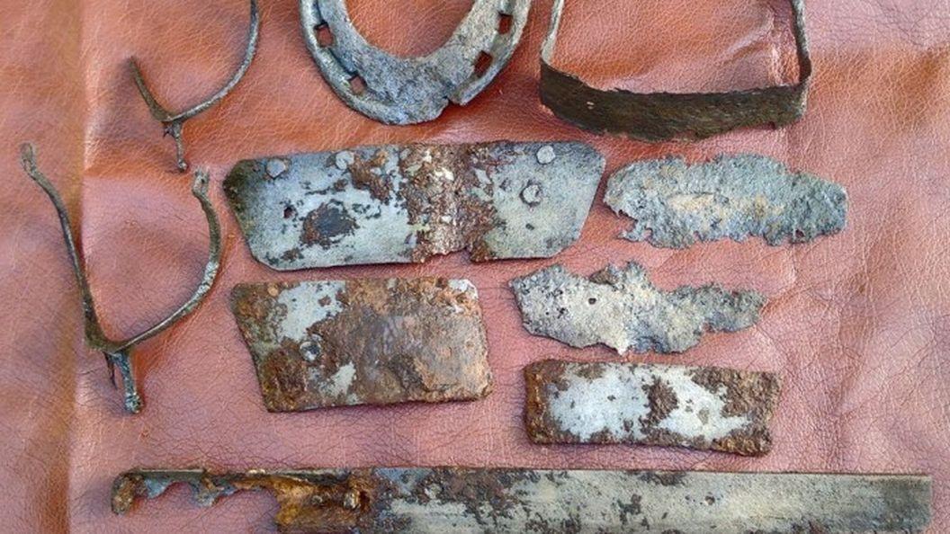 Археологи показали артефакти XIV ст. пов'язані з війною за Галицьку спадщину