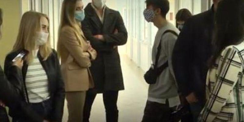 """""""Боимся!"""" В Одессе студенты выступили против очного обучения"""