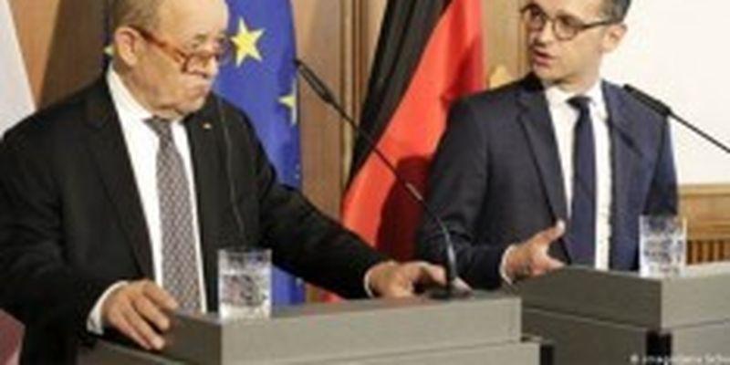 Франция и ФРГ поддержали Украину на фоне обострения на Донбассе