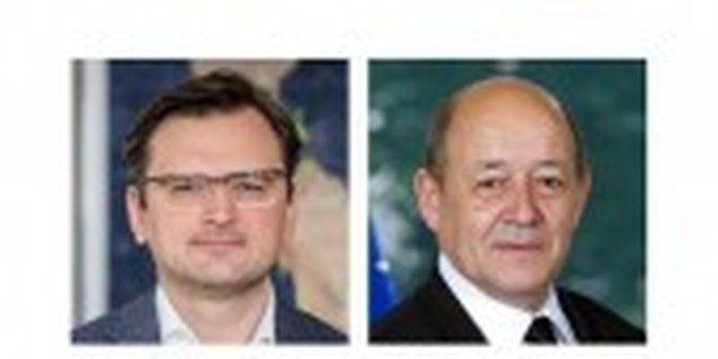 Кулеба - главі МЗС Франції: Париж здатен пожвавити зусилля Нормандського формату з мирного врегулювання