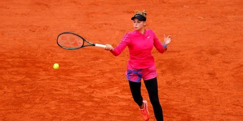 Завацкая потерпела поражение в первом матче квалификации в Остраве