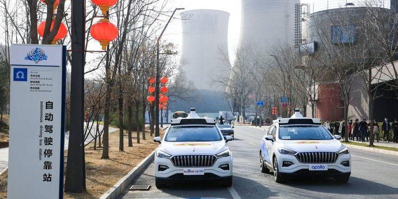 Не пристібнувся – не поїхав: Baidu запустили у Китаї перші безпілотні таксі