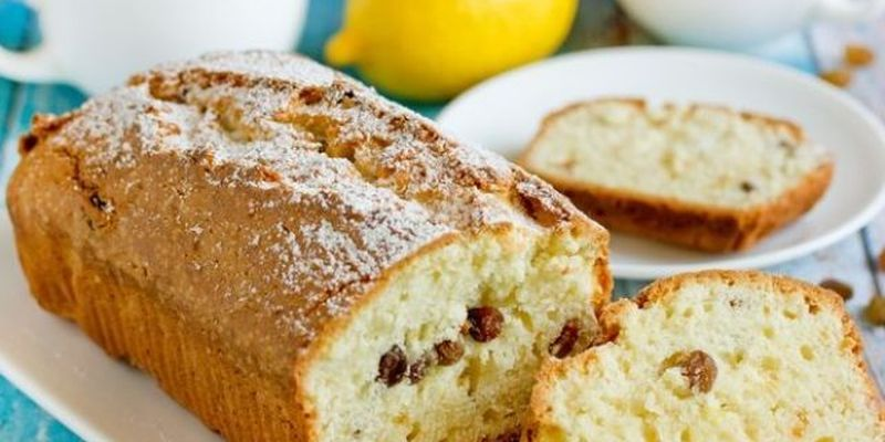 Радуем близких: рецепт лимонного кекса