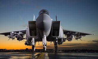 F-15 ВПС США знищив ціль на рекордній відстані