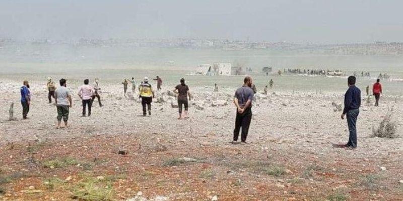 В Сирии беспилотник открыл шквальный огонь по оружейному складу