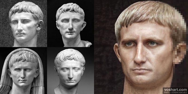 Искусствовед с помощью нейросети воссоздал лица римских императоров