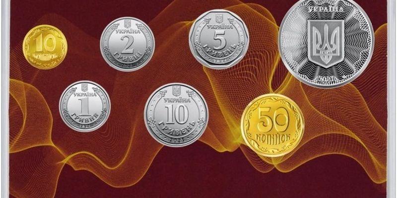 Нацбанк выпустил коллекционный набор «Монеты Украины 2021 года»
