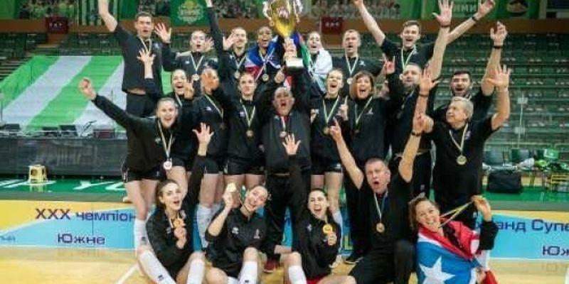 СК «Прометей» выиграл женский чемпионат Украины-2020/21 по волейболу