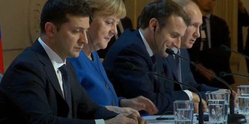 Зеленский, Меркель и Макрон проведут переговоры без Путина