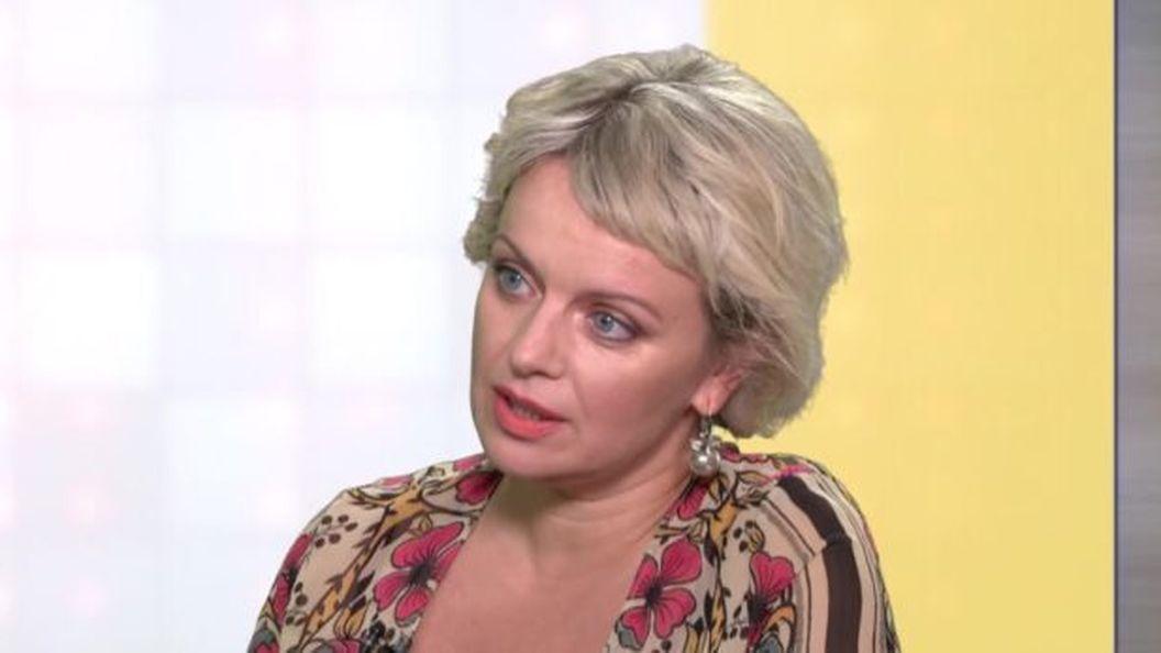 Звезда сериала «Леся+Рома» Ирма Витовская похвасталась роскошным бюстом на Одесском кинофестивале 2019