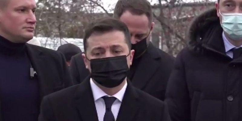 23 января День траура в Украине: Зеленский обратился к народу