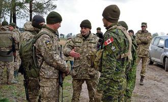 Канадские инструкторы приостановили обучение военных ВСУ из-за вспышки COVID-19