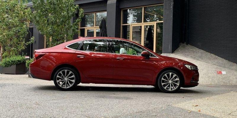 Opel Astra sedan от Buick: новый дизайн и моторы