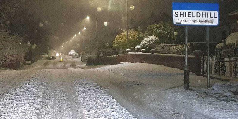 Полиция призывает водителей не выезжать без надобности из-за снегопада