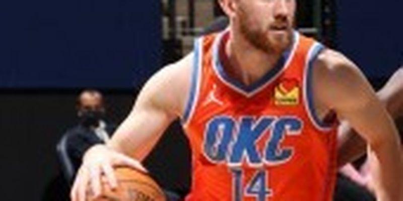 """Михайлюк допоміг """"Оклахомі"""" перервати серію поразок в НБА"""