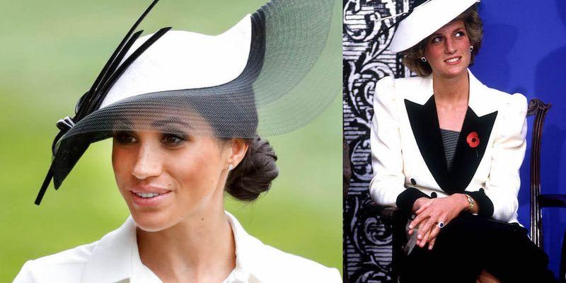 Известные образы принцессы Дианы, которыми вдохновлялись Кейт Миддлтон и Меган Маркл