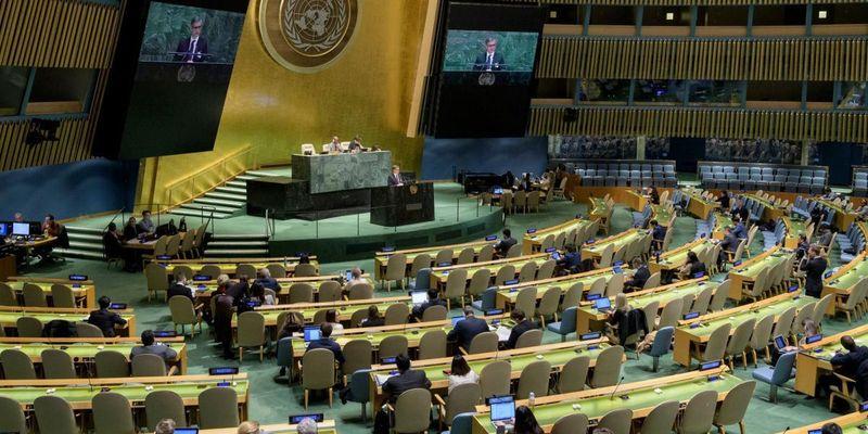 Україна цьогоріч першою сплатила всі внески в ООН