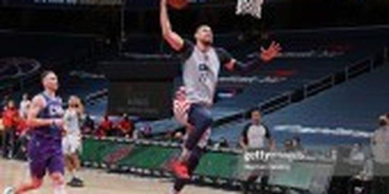 """Десять підбирань українця допомогли """"Вашингтону"""" здобути перемогу у грі НБА"""