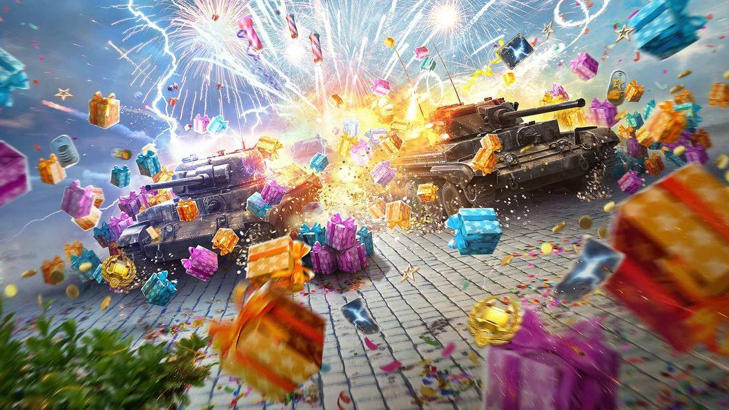 Wargaming дарит «атомные танки» в честь пятилетия World of Tanks: Blitz