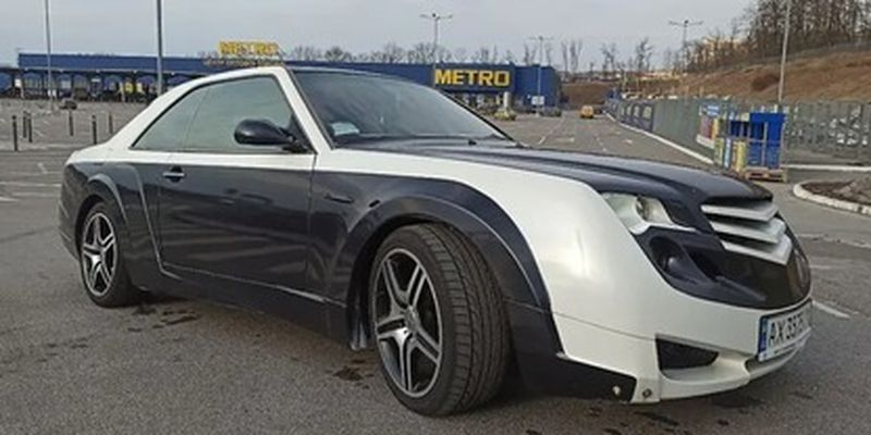 В Украине выставили на продажу необычный Mercedes-Benz E-Class - поражает своим тюнингом: фото