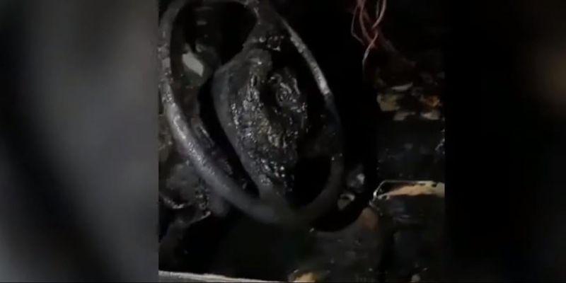 В Одесі спалили автівку місцевому активісту