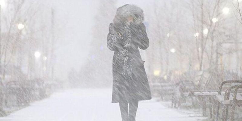На Украину надвигается снежная буря: синоптик уточнила прогноз