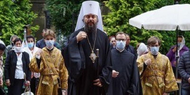 Митрополит УПЦ призвал главу Львовской ОДА защитить права верующих в Золочеве