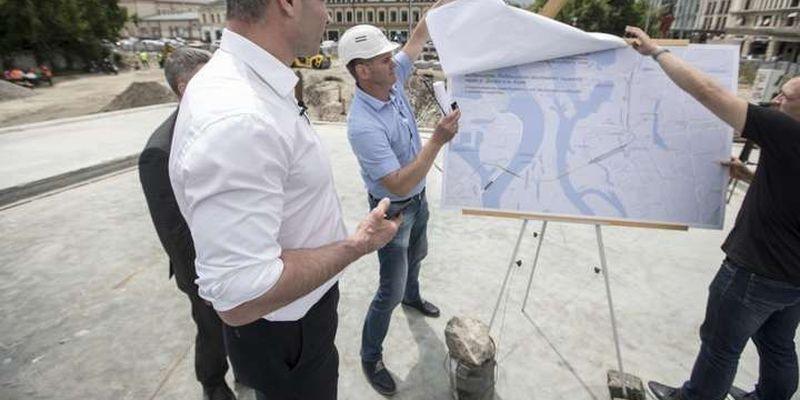 Кличко оголосив про початок будівництва метро на Троєщину