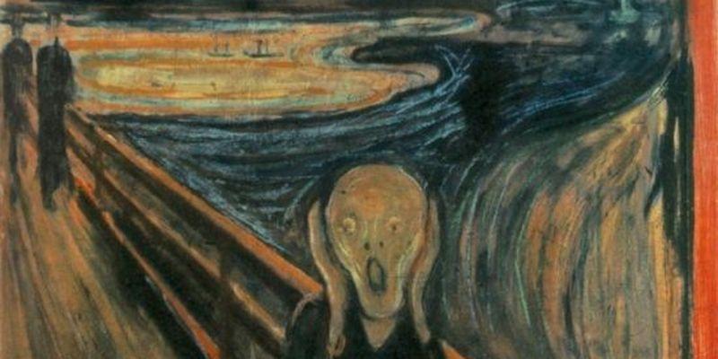 """З'ясували, хто залишив дивний напис на картині """"Крик"""" Мунка"""