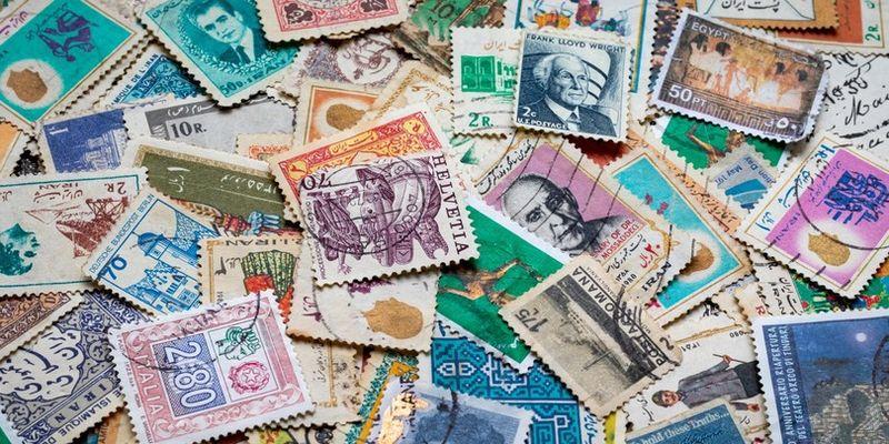 История первой в мире почтовой марки