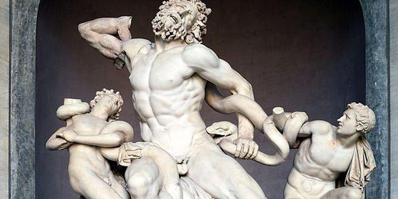Знайшли скульптуру троянського жерця із синами