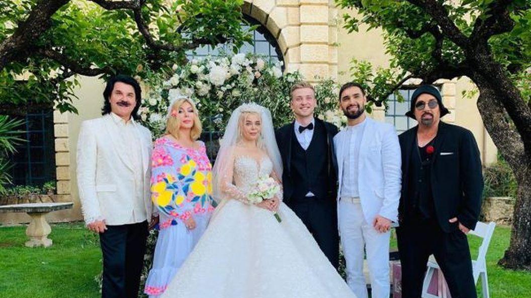 Аліна Гросу витратила на весілля кілька десятків тисяч євро