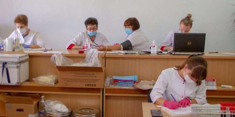 У Чернівцях Центр крові провів виїзний день донора