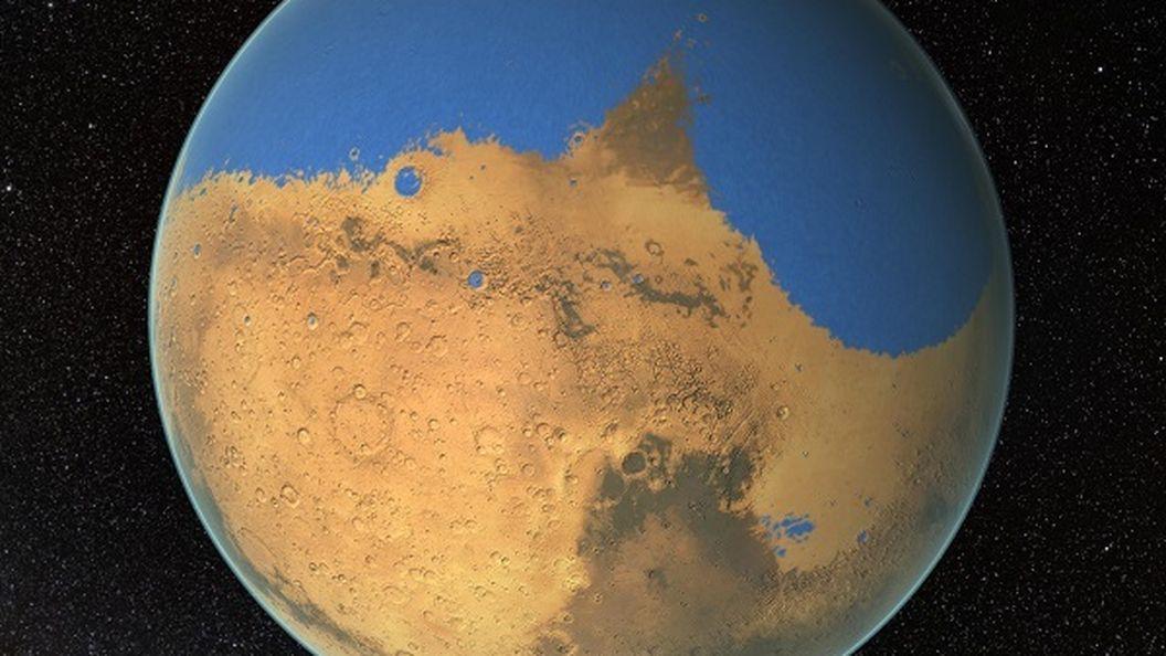 Моря Марса: атлас