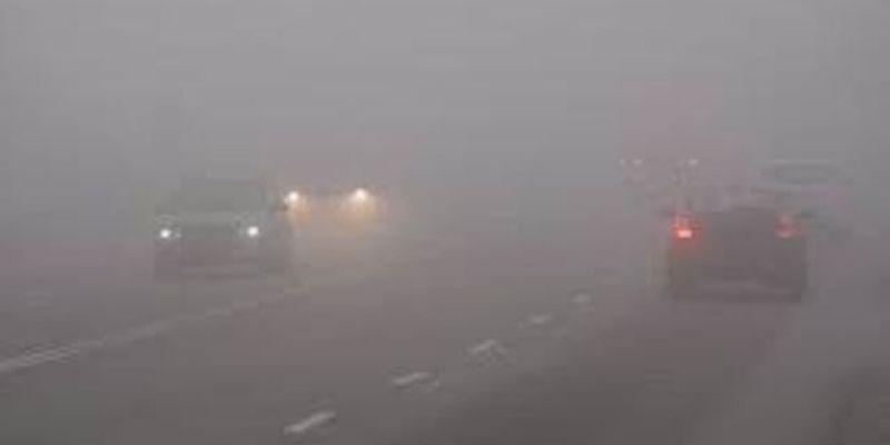 В Украине из-за тумана возможны нарушения движения транспорта