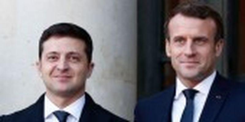 Зеленський на наступному тижні їде в Париж на зустріч з Макроном - посол