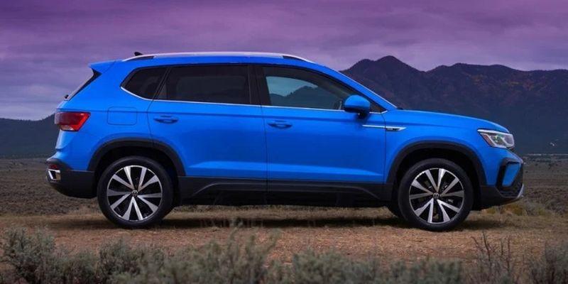 Офіційно презентували новий кросовер Volkswagen Taos